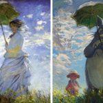 Un artiste recrée des peintures classiques à l'aide de personnages de la culture pop