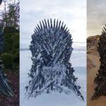 Game Of Thrones a caché 6 trônes autour du monde pour une chasse au trésor épique et 2 sont laissés à trouver