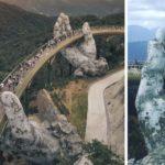 Un pont à couper le souffle au Vietnam ressemble à quelque chose du seigneur des anneaux