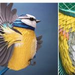 L'artiste Lisa Lloyd utilise du papier pour créer de belles sculptures 3D